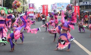 street dancing in Bacolod