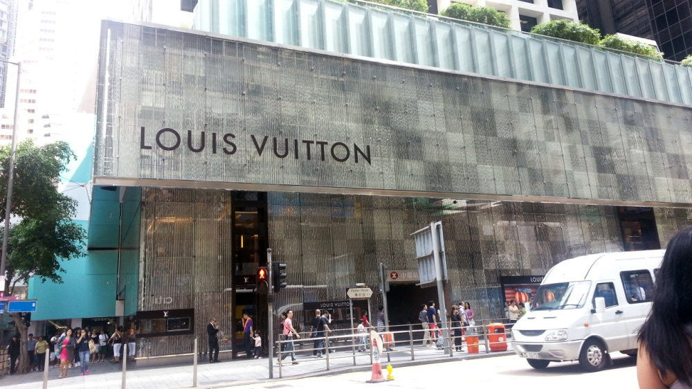 They say Hong Kong has more Louis Vuitton stores than Paris.