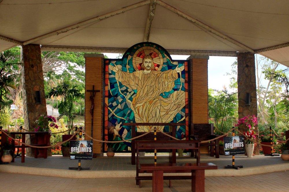 The Altar of Repose at the Tent Chapel of Transfiguration, Caleruega, Batulao, Nasugbu, Batangas