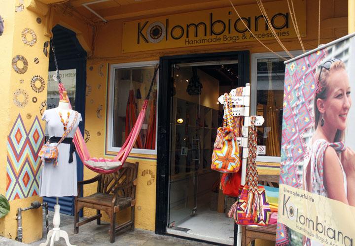 Isa sa mga favorite boutique stores ang Kolombiana. La lang.
