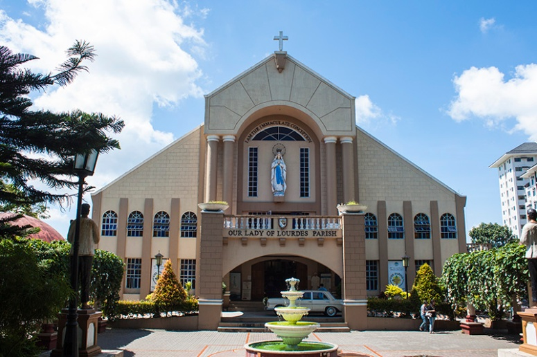 our lady of lourdes parish church